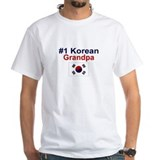 #1 Korean Grandpa Shirt
