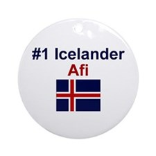 Iceland #1 Afi Keepsake Ornament