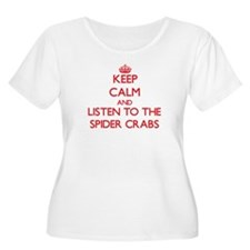 Keep calm and listen to the Spider Crabs Plus Size