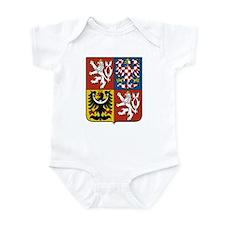 Czech Coat of Arms Infant Bodysuit