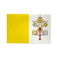 Vatican City Flag Rectangle Magnet