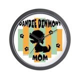 Dandie Dinmont Mom Wall Clock