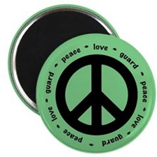 peace * love * guard (MINT) Magnets