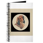 Longhaired Dachshund head stu Journal