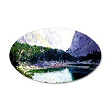 Twin Lakes, High Sierras - p Wall Decal