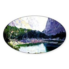 Twin Lakes, High Sierras - painting Decal