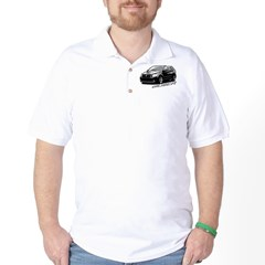 Caliber B&W Golf Shirt
