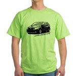Caliber B&W Green T-Shirt