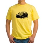 Caliber B&W Yellow T-Shirt