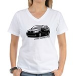 Caliber B&W Women's V-Neck T-Shirt