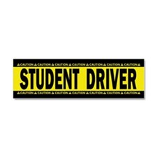 Student Driver! Caution! Car Magnet 10 X 3