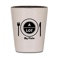 My Plate Shot Glass