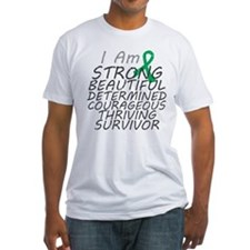 Liver Cancer Strong Survivor Shirt