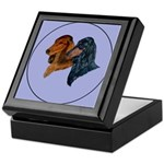 Dachshund Duo Keepsake Box