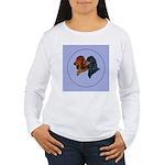 Dachshund Duo Women's Long Sleeve T-Shirt