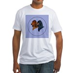 Dachshund Duo Fitted T-Shirt
