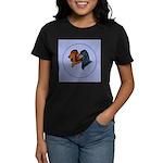 Dachshund Duo Women's Dark T-Shirt