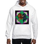 Dachshund Pair Hooded Sweatshirt