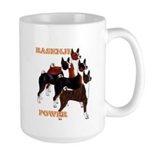 Basenji power Mugs