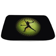 iPitch Fastpitch Softball (right handed) Bathmat