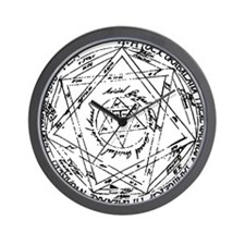 Great (or Grand) Pentacle Wall Clock