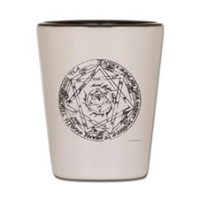 Great (or Grand) Pentacle Shot Glass