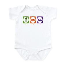 Eat Sleep Rafting Infant Bodysuit