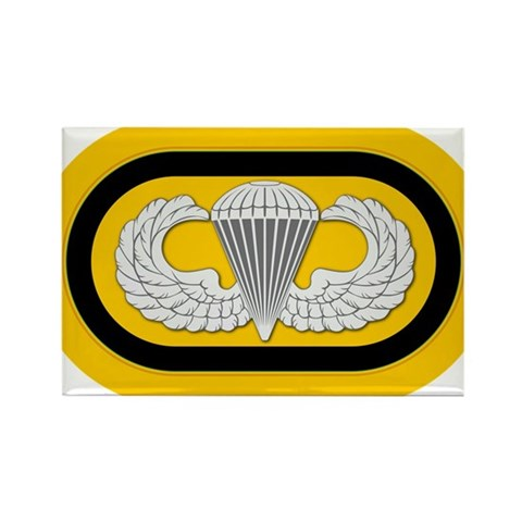 1st SF Airborne Rectangle Magnet