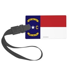 North Carolina Flag, NC State Flag Luggage Tag