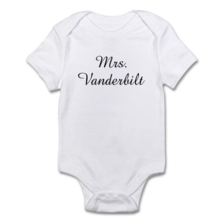 Mrs. Vanderbilt Infant Bodysuit