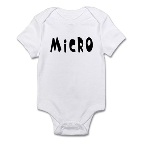 &amp;quot;Micro&amp;quot; Infant Bodysuit