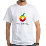 Obama: Vote different. Shirt