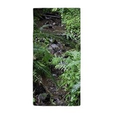 Pacific Northwest Stream Beach Towel