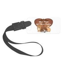 Personalized Veterinary Luggage Tag