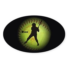 iHit Fastpitch Softball (left handed) Decal