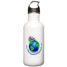 HU Logo Water Bottle