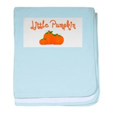Little Pumpkin baby blanket