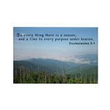 Ecclesiastes 3:1 Rectangle Magnet (100 pack)