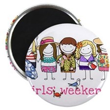 "Girls' Weekend 2.25"" Magnet (100 pack)"