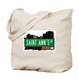 Saint Ann's Av, Bronx, NYC  Tote Bag