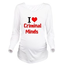 I Love Criminal Minds Long Sleeve Maternity T-Shir