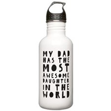 AWESOME DAUGHTER Water Bottle