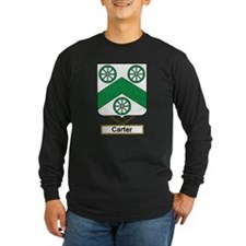 Carter Family Crest Long Sleeve T-Shirt
