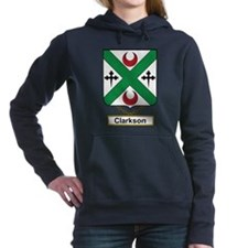 Clarkson Family Crest Hooded Sweatshirt