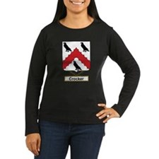Crocker Family Crest Long Sleeve T-Shirt