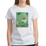 Sock Monkey Martini Bartender Women's T-Shirt