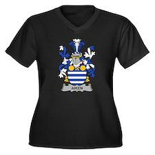 Aiken Family Crest Plus Size T-Shirt