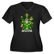 McAdam Family Crest Plus Size T-Shirt