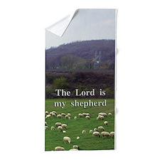The Lord Is My Shepherd - Design 4 Beach Towel