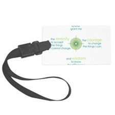 serenity prayer Luggage Tag